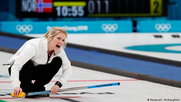 Olympische Winterspiele 2018 in PyeongChang | Curling (Reuters/C. McNaughton)