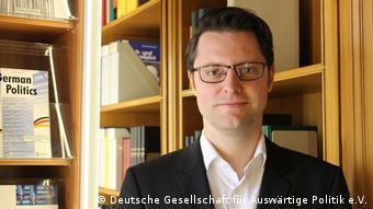 Sebastian Sons von der Deutschen Gesellschaft für Auswärtige Politik e.V. (Deutsche Gesellschaft für Auswärtige Politik e.V.)