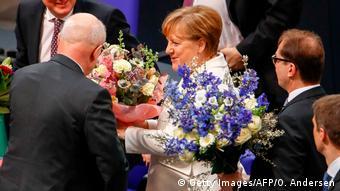 Deutschland Bundestag Kanzlerwahl
