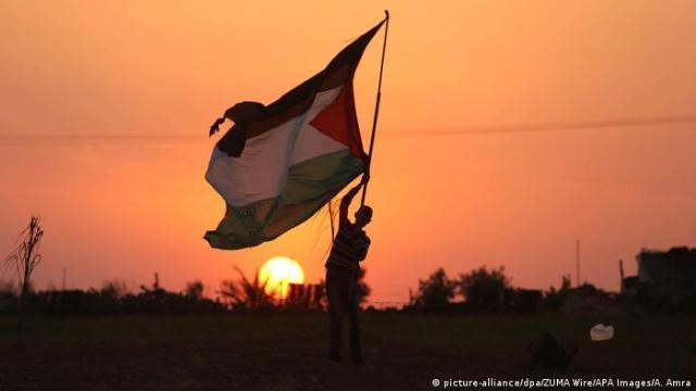 Palästina Vor dem Marsch der Rückkehr in Rafah (picture-alliance / dpa / ZUMA Wire / APA Images / Amra)