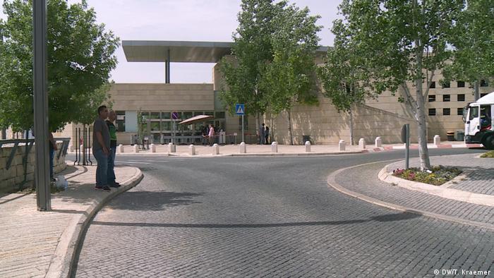 US-Botschaft nach Jerusalem (DW/T. Kraemer)