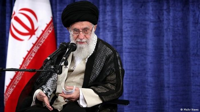 Iran Ali Khamenei, the supreme leader of Iran (Mehr News)