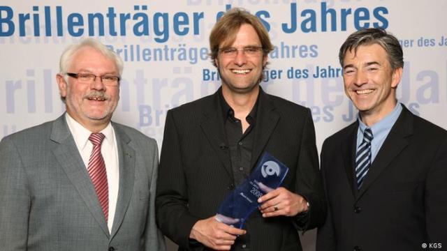 Jürgen Klopp 2008 - Brillenträger des Jahres (KGS)