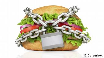 Burger in chains