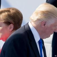German politicians rally round Angela Merkel after Donald Trump's NATO tirade