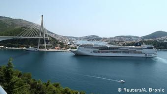 Kreuzfahrtschiff Kroatien (Reuters/A. Bronic)