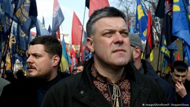 Лідер ВО Свобода Олег Тягнибок