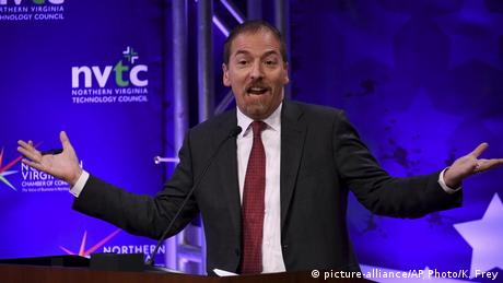 NBC anchor Chuck Todd (picture-alliance / AP Photo / K. Frey)