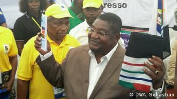 Mosambik RENAMO Oppositionspartei neuer Vorsitzender Ussufo Momade (DWA. Sebastiao)