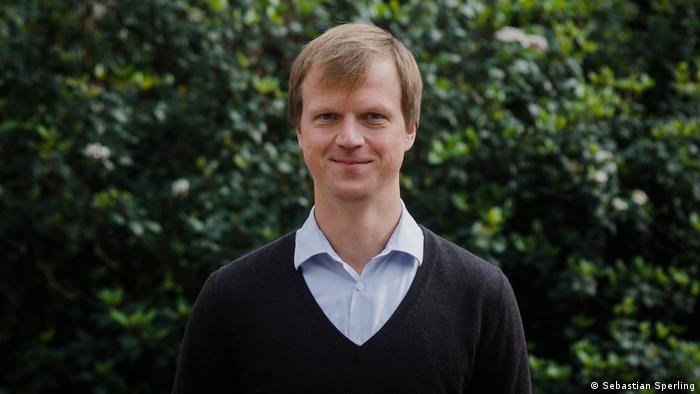 Sebastian Sperling, representante de la Fundación Friedrich Ebert, en Montevideo, Uruguay