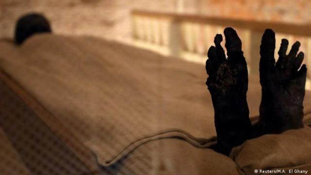 Der mumifizierte Leichnam Tutanchamuns (Reuters / M.A. El Ghany)