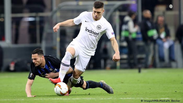 Fußball: Europa League | Inter Mailand - Eintracht Frankfurt (Imago/HMBxMedia/H. Becker )