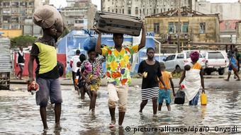 Mosambik Beira Zyklon Idai (picture-alliance/dpa/D. Onyodi)