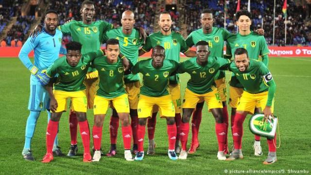 Fußball Nationalspieler Mannschaft Mauretanien (picture-alliance / empics / S. Shivambu)