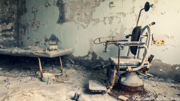 МСЧ-126: у підвалі досі зберігається забруднений радіацією одяг ліквідаторів