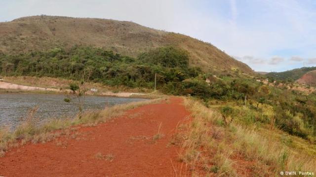 Barragem abandonada em Brumadinho