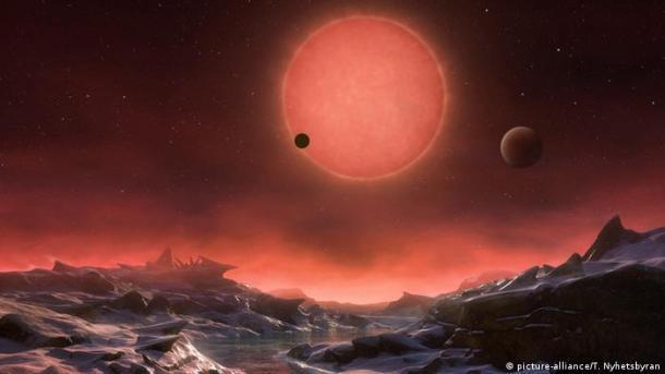 Entdeckung des Planeten K2 18-B (picture-alliance/T. Nyhetsbyran)