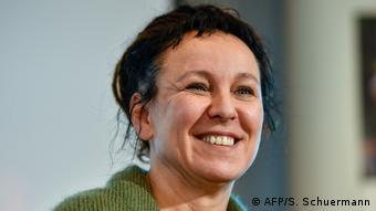 Bielefeld Nobelpreis Literatur 2018 Autorin Olga Tokarczuk (AFP/S. Schuermann)