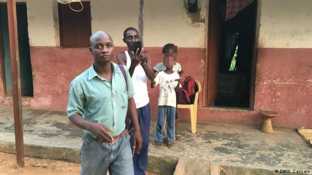 Guinean Lafu Balde on the streets of Bissau (DW/A. Cascais)