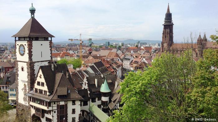 Germany, panoramic view of Freiburg im Breisgau (DW / D. Dedovic)