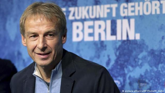 Bundesliga Hertha BSC | 2019 | Jürgen Klinsmann, Trainer (picture-alliance/AP Photo/M. Sohn)