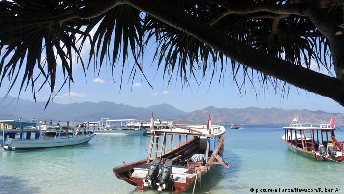 Indonesia |  Tourism and Corona |  Gili Air Island (picture-alliance / Newscom / R. Ben Ari)