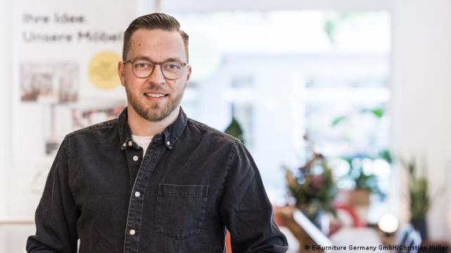 Holzconnection's boss Denys Nagel