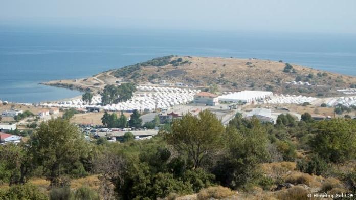 The Kara Tepe camp on Lesbos (Henning Goll/DW)