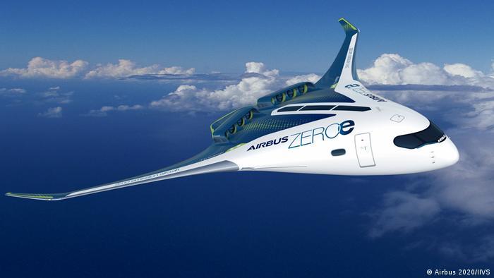 Das Wasserstoff-Flugzeug nimmt Gestalt an
