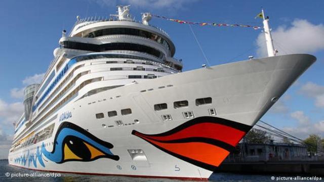 cruise ship Aidablu (picture-alliance/dpa)