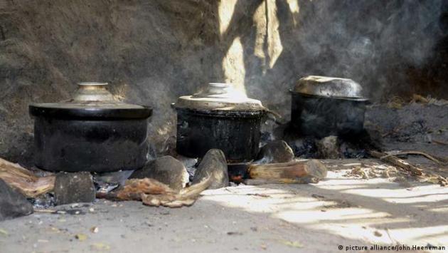 Otvoreno ognjište u Sudanu