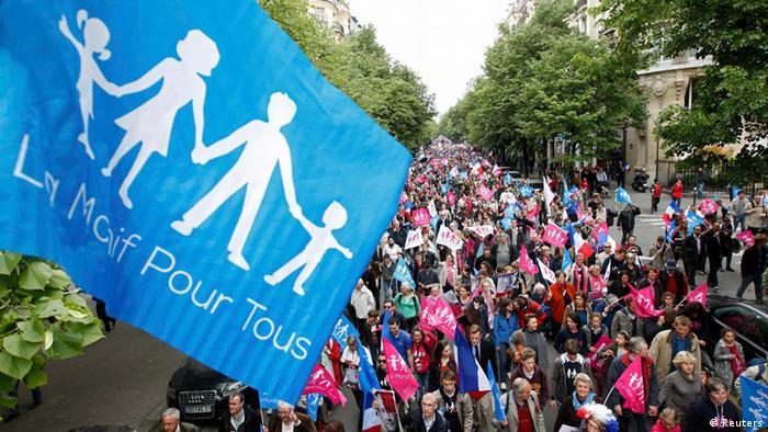 Demo in Paris (Foto: rtr)