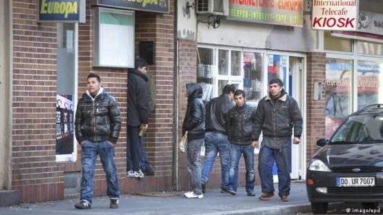 Symbolbild Armutsmigration Europa