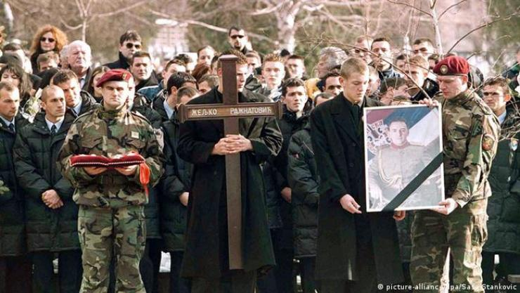 Pogreb Arkana 2000.