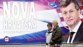 Predizborni plakat Milana Kujundžića