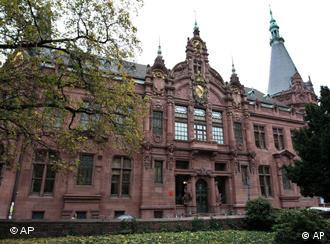 The library at the University of Heidelberg