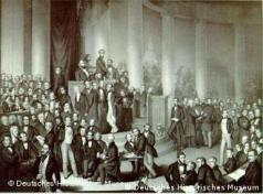 Lithograph of the National AssemblyPhoto: German History Museum