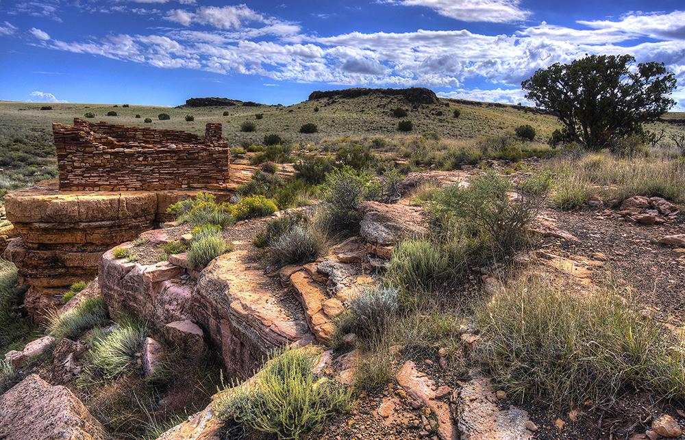 Lomaki Ruin, Wupatki National Monument, N. Arizona.