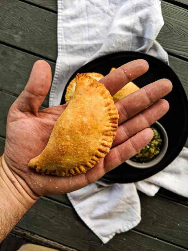 Dwardcooks Baked Beef Empanadas