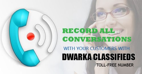 record all conversations with customers Dwarka Classifieds