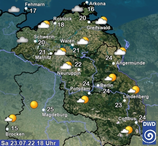 Farming weather for Northern Germany AGRAVIS Agrarwetter f    r die Region Nord Ost