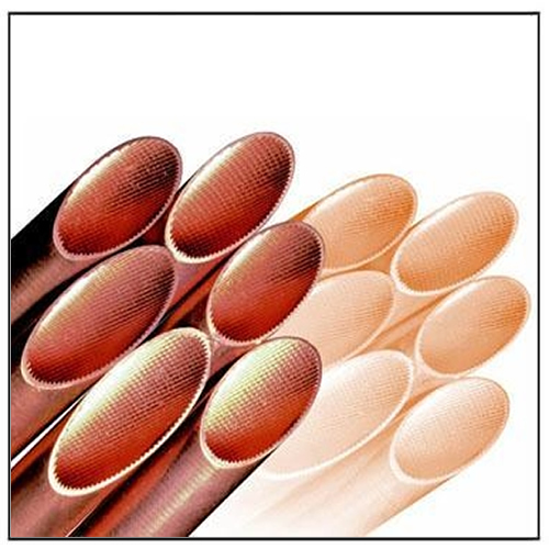 Inner Grooved Copper Pipes