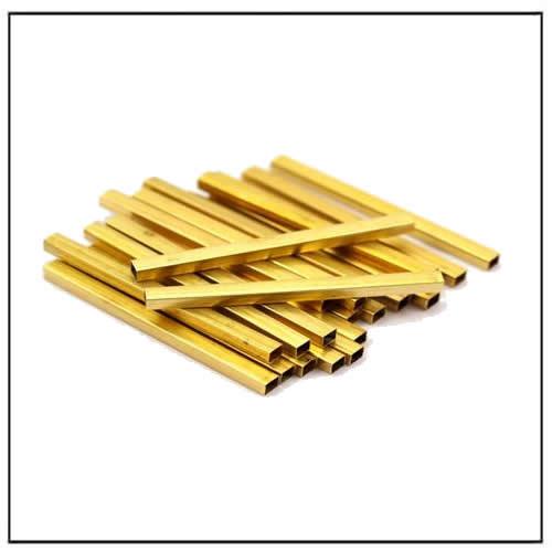 Rectangle Brass Tube
