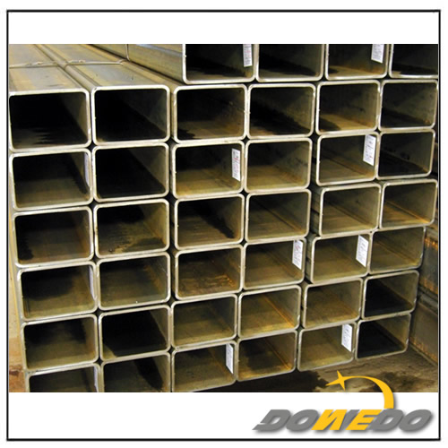Square Rectangle Brass Tube for Construction Furniture