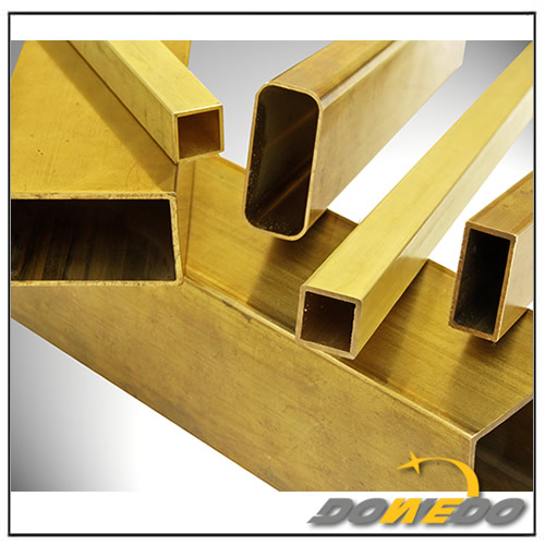 Brass Rectangular Pipe
