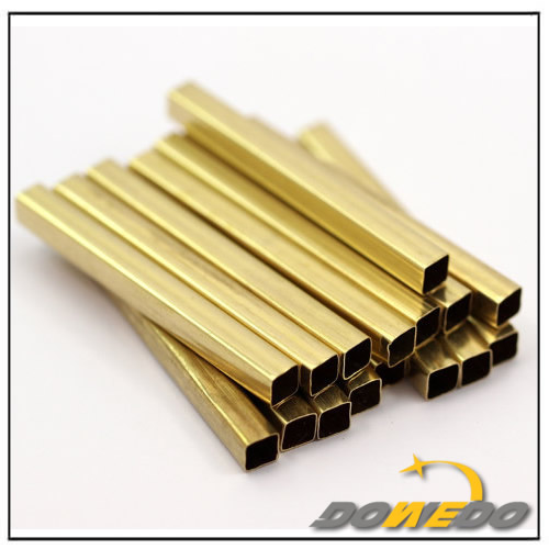 Small Seamless Brass Square Tubing