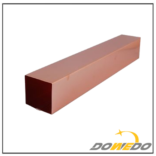 Rainwater Copper Square Pipe