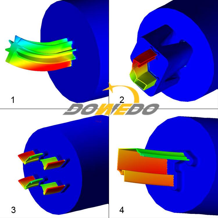 brass extrusion die design