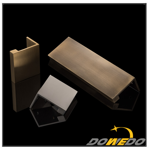 Brass T Slot Framing Extrusions