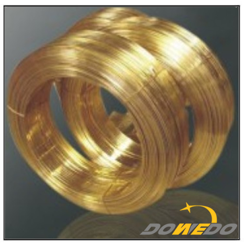 Flat Brass Wires